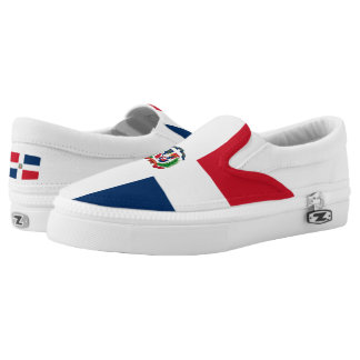 Dominican flag Slip-On sneakers