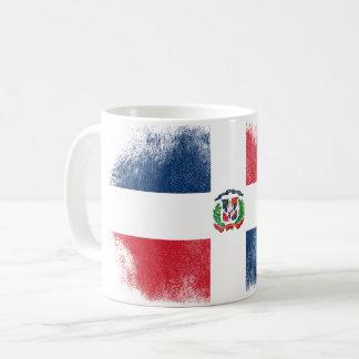 Dominican Flag Souvenir - Distressed Dominicana Coffee Mug
