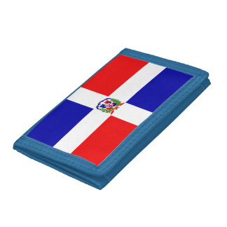 Dominican Flag Tri-fold Wallet