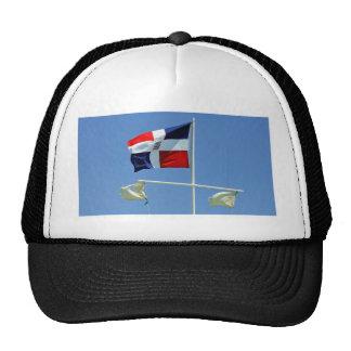 dominican flag trucker hat