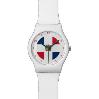Dominican flag Watch