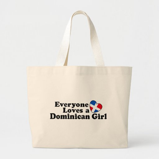 Dominican Girl Tote Bag