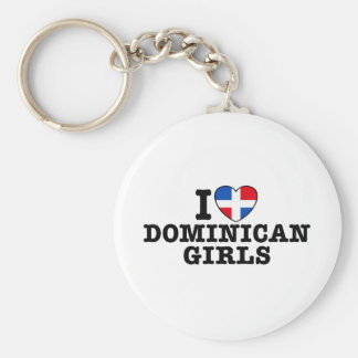 Dominican Girls Keychain
