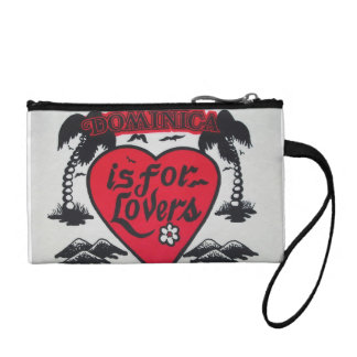dominican is for lovers coin pouch
