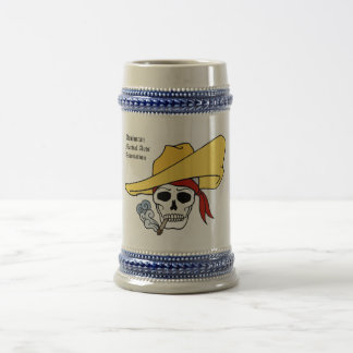 Dominican Martial Arts Association 18 Oz Beer Stein