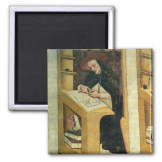 Dominican Monk at his Desk, from the Cycle of 'For 2 Inch Square Magnet