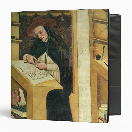 Dominican Monk at his Desk, from the Cycle of 'For Binder