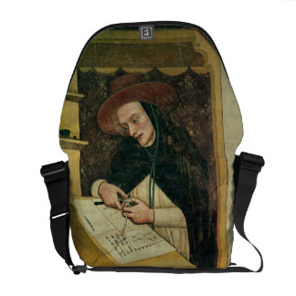 Dominican Monk at his Desk, from the Cycle of 'For Courier Bag