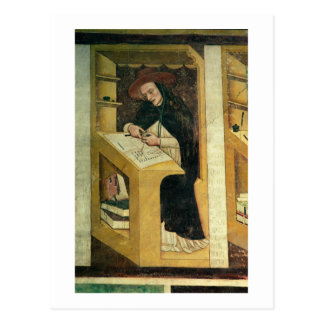 Dominican Monk at his Desk, from the Cycle of 'For Postcard