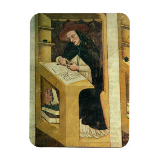 Dominican Monk at his Desk, from the Cycle of 'For Rectangular Photo Magnet