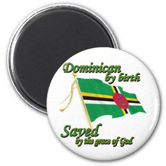 dominican por el nacimiento ahorrado por la gracia imán de frigorífico