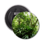 Dominican Rain Forest I Tropical Green Nature Bottle Opener