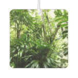 Dominican Rain Forest I Tropical Green Nature Car Air Freshener