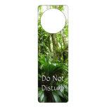 Dominican Rain Forest I Tropical Green Nature Door Hanger