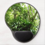 Dominican Rain Forest I Tropical Green Nature Gel Mouse Pad