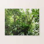 Dominican Rain Forest I Tropical Green Nature Jigsaw Puzzle