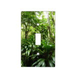 Dominican Rain Forest I Tropical Green Nature Light Switch Cover