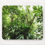 Dominican Rain Forest I Tropical Green Nature Mouse Pad