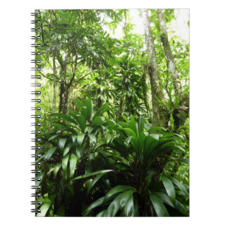 Dominican Rain Forest I Tropical Green Nature Notebook