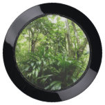 Dominican Rain Forest I Tropical Green Nature USB Charging Station