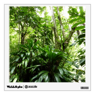 Dominican Rain Forest I Tropical Green Nature Wall Decal