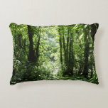 Dominican Rain Forest II Tropical Green Accent Pillow