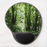Dominican Rain Forest II Tropical Green Gel Mouse Pad