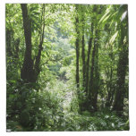Dominican Rain Forest II Tropical Green Napkin