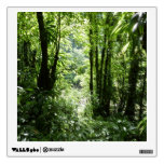 Dominican Rain Forest II Tropical Green Wall Sticker