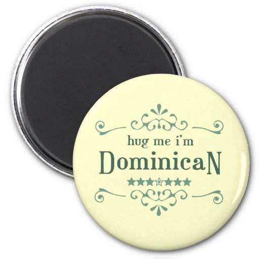 Dominican Refrigerator Magnets