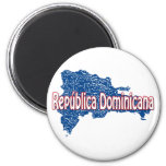 Dominican Republic 2 Inch Round Magnet