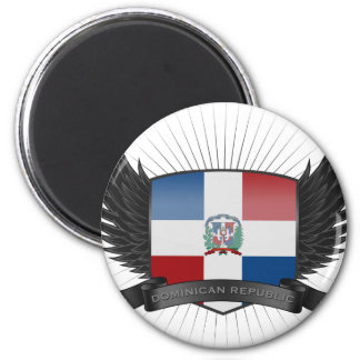 DOMINICAN_REPUBLIC 2 INCH ROUND MAGNET