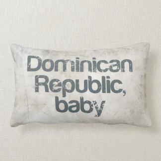 Dominican Republic Baby Lumbar Pillow