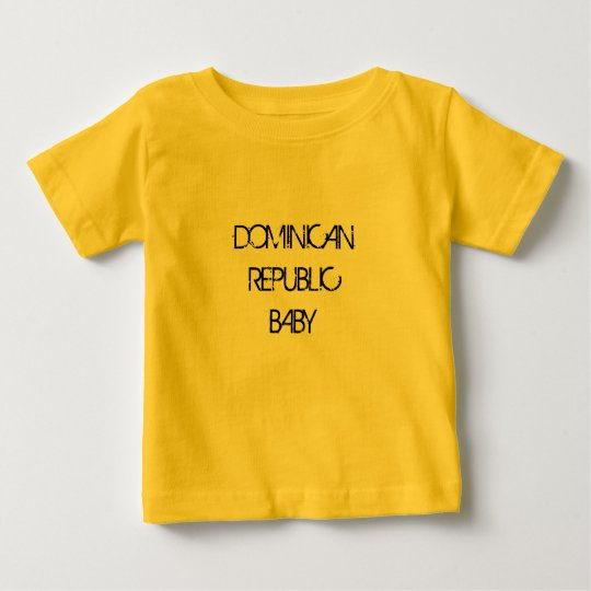 DOMINICAN REPUBLIC BABY SHIRTS