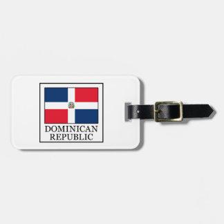 Dominican Republic Bag Tag