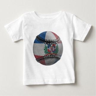Dominican Republic Baseball Baby T-Shirt