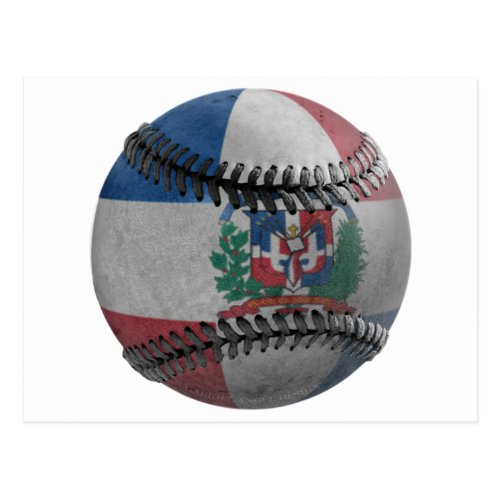Dominican Republic Baseball Postcard