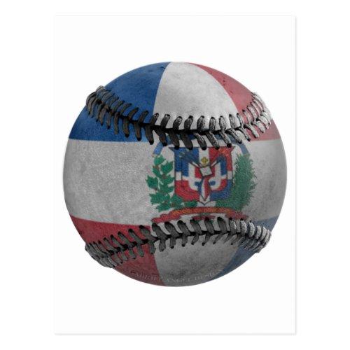 Dominican Republic Baseball Postcard