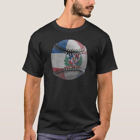 Dominican Republic Baseball T-Shirt