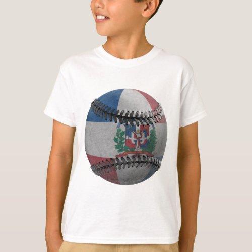Dominican Republic Baseball T_Shirt