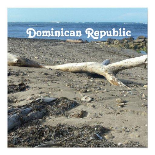 Dominican Republic Beach Custom Announcement