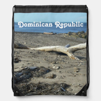 Dominican Republic Beach Cinch Bag
