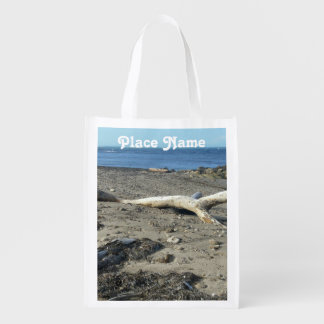 Dominican Republic Beach Reusable Grocery Bags