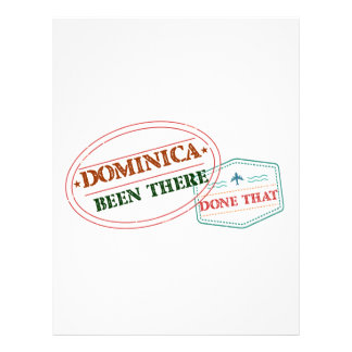Dominican Republic Been There Done That Letterhead