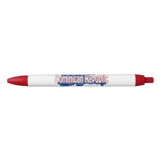 Dominican Republic Black Ink Pen