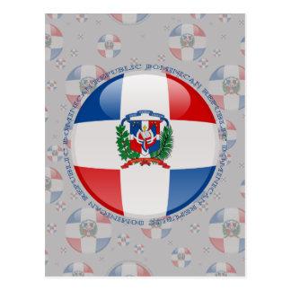 Dominican Republic Bubble Flag Postcard