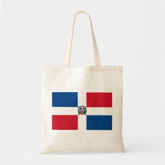 dominican republic budget tote bag