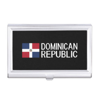 Dominican Republic Business Card Case