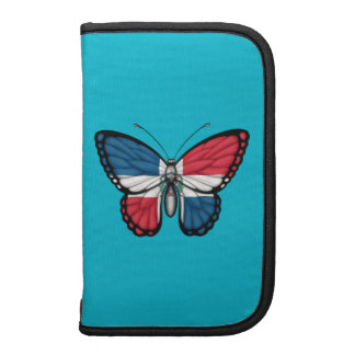 Dominican Republic Butterfly Flag Planner