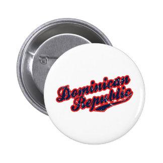 Dominican Republic Button